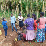 The Water Project: Hirumbi Community, Khalembi Spring -  Training
