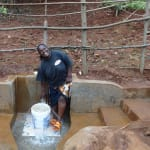 The Water Project: Hirumbi Community, Khalembi Spring -  Happy Day