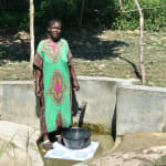 The Water Project: Bukhanga Community, Indangasi Spring -  Josephine Shamalla Posing At The Water Point