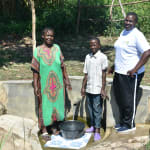 The Water Project: Bukhanga Community, Indangasi Spring -  Josephine Nicholas And Team Leader Emmah At Indangasi Spring