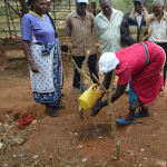 The Water Project: Kala Community C -  Handwashing Demonstration