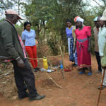 The Water Project: Kala Community C -  Tippy Tap Demonstration