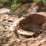 The Water Project: Kala Community C -  Digging Out Hole For Well