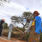 The Water Project: Kala Community C -  Pumping Well