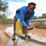 The Water Project: Kala Community C -  Water At The Well