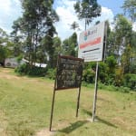 The Water Project: Bulukhombe Primary School -  School Signpost