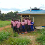 The Water Project: Bulukhombe Primary School -  Boys At Their Latrines