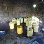 The Water Project: Bulukhombe Primary School -  Water Storage Containers