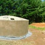 The Water Project: Kapkures Primary School -  Dome Construction Underway
