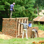 The Water Project: Kapkures Primary School -  Framing The Latrines