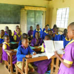 The Water Project: Kapkures Primary School -  A Student Shares Her Work