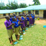 The Water Project: Kapkures Primary School -  Handwashing Lesson