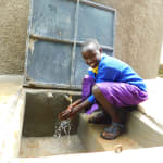 The Water Project: Kapkures Primary School -  Smiles At The Rain Tank