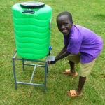 The Water Project: Kapkures Primary School -  Smiles Washing Hands