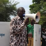 The Water Project: DEC Mahera Primary School -  Government Official Makes Speech At Dedication