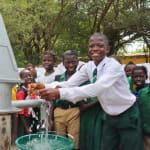 The Water Project: DEC Mahera Primary School -  Head Boy Rejoicing