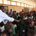 The Water Project: DEC Mahera Primary School -  Teacher Describes Disease Transfer