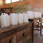 The Water Project: DEC Mahera Primary School -  Tippy Tap Construction Materials