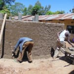 The Water Project: Saride Primary School -  Outer Cement Work
