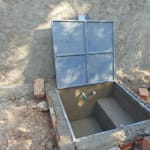 The Water Project: Saride Primary School -  Access Box Progress