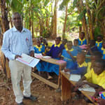 The Water Project: Saride Primary School -  Senior Teacher Kebaso Mosioma Addresses Pupils At Training