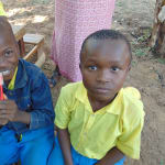 The Water Project: Saride Primary School -  Participant Excited About Receiving Toothbrush