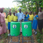 The Water Project: Saride Primary School -  Elected Health Club Leaders With Staff