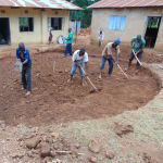 The Water Project: Saride Primary School -  Tank Foundation Excavation