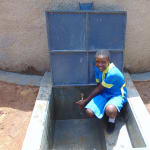The Water Project: Saride Primary School -  All Smiles At The Tank