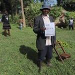 The Water Project: Mukhangu Community, Okumu Spring -  A Village Elder At The Training