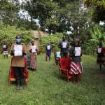 The Water Project: Mukhangu Community, Okumu Spring -  Covid Training Pamphlets Used At The Training