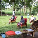 The Water Project: Mukhangu Community, Okumu Spring -  Training Session