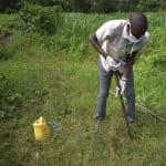 The Water Project: Bukhanga Community, Indangasi Spring -  Protus Installs A Handwashing Station At Indangasi Spring