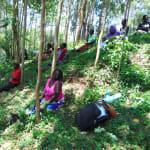 The Water Project: Shiamala Community, David Ashiona Spring -  Social Distancing At The Training