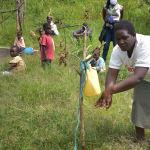 The Water Project: Bukhanga Community, Indangasi Spring -  Handwashing