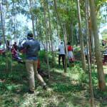 The Water Project: Shiamala Community, David Ashiona Spring -  Facilitators In Masks And Gloves At Training