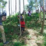 The Water Project: Shiamala Community, David Ashiona Spring -  Handwashing Demonstration