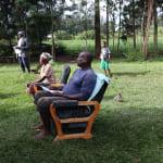 The Water Project: Mukhangu Community, Okumu Spring -  Participants Following The Training