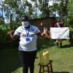 The Water Project: Mkunzulu Community, Museywa Spring -  Illustrations On Proper Air Drying Of Hands