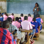 The Water Project: Bulukhombe Primary School -  Facilitator Christine In Action