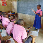 The Water Project: Bulukhombe Primary School -  A Student Shares Her Groups Findings