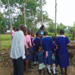 The Water Project: Bulukhombe Primary School -  Christine Explains The Tank Construction Steps