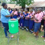 The Water Project: Bulukhombe Primary School -  Handwashing Demonstration