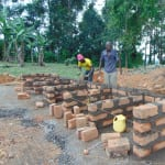 The Water Project: Bulukhombe Primary School -  Latrine Construction