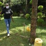 The Water Project: Nyira Community, Ondiek Spring -  Georgina Kamau Conducts Handwashing Training