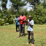 The Water Project: Nyira Community, Ondiek Spring -  Handwashing Demonstrations
