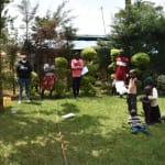 The Water Project: Nyira Community, Ondiek Spring -  Steps Of Handwashing