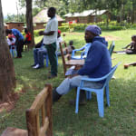 The Water Project: Ematiha Community, Ayubu Spring -  A Gent Addressing The Group