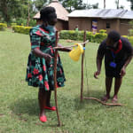 The Water Project: Ematiha Community, Ayubu Spring -  A Tippy Tap Handwashing Station