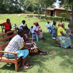 The Water Project: Ematiha Community, Ayubu Spring -  The Facilitator Leading The Training